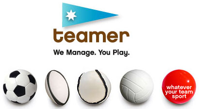 Teamer team management system logo