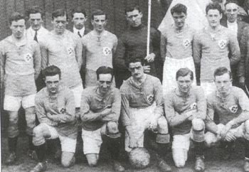 Irish team that played the USA  in 1924