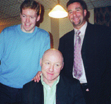 Dave Langan with Steve Staunton and John Aldridge