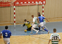 Futsal match in Ireland