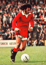 George Best Playing for Manchester United