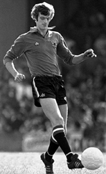 Paddy Roche playing for Man Utd